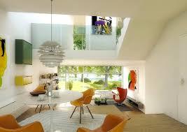 Colorful Retro Dining Room Interior Design Ideas - Retro dining room