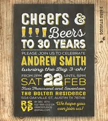 army birthday invitations cheers and beers to 30 years invitation 30th birthday
