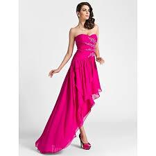 Fuchsia Plus Size Dress Gaussianblur