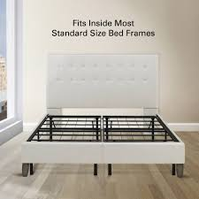 bed frames convert box spring to platform bed what u0027s a panel bed