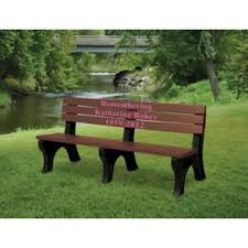 Personalized Park Bench Engraved Memorial Benches Personalized Park Benches For Sale