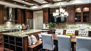 kitchen island with table built in kitchen island booth kitchen island with built in seating