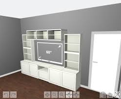ikea besta how to design install and add trim to an ikea besta built in