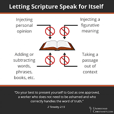 biblical interpretation understandchristianity