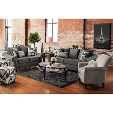 Living Room Chairs On Sale by Colette Sofa Gray American Signature Furniture