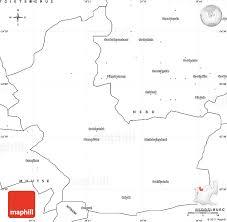 blank simple map of groblersdal