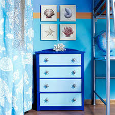 themed dresser a marine biology themed room