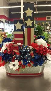 patriotic large arrangement by randi sheldon at michaels 1600