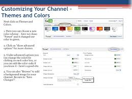 youtube color code customizing your youtube channel