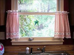 White Kitchen Curtains by Kitchen Red And Black Curtains Kitchen Window Treatments Grey