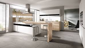 Concrete Tile Backsplash by Kitchen Alno Kitchen Features Light Wooden Kitchen Cabinet With