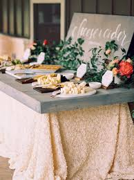 food bar ideas for your wedding brides