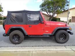 1997 jeep wrangler se used 1997 jeep in los angeles jeep wrangler se for sale in los
