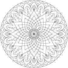 coloring pages printable mandala u0026 abstract colouring pages for