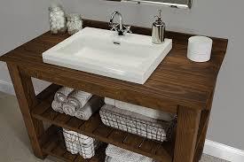 rustic bathroom sinks and vanities rustic bathroom vanity buildsomething com regarding inspirations 18