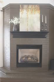 fireplace top how to paint brick fireplace white room ideas