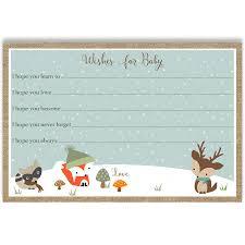 winter woodland friends baby shower invitation u2013 the invite lady