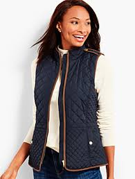 Plus Size Quilted Barn Jacket Puffers And Quilted Talbots Com