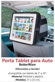 porta tablet auto porta tablet para auto betterware cod 16710 135 00 en mercado