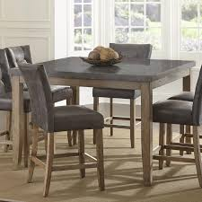steve silver debby transitional square counter height dining table