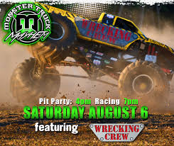 monster truck racing association monster mayhem saturday august 6th team demo association