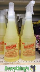 awesome all purpose cleaner putting the dollar tree cleaner la s totally awesome to the test