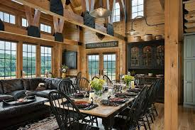 log homes interiors rustic kitchens design ideas tips inspiration