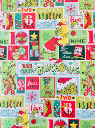 dr seuss wrapping paper the grinch christmas wrapping paper dr suess from kindregardsshop