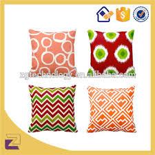 taie d oreiller pour canapé gros décoratif ikat zigzag jute taie d oreiller pour canapé chaise