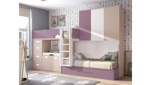 chambre lit superposé lit superposé fille personnalisable lit gigogne glicerio so nuit