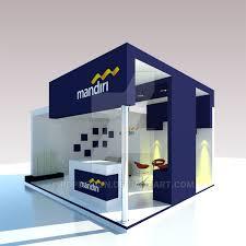 Bank Mandiri Booth Design Bank Mandiri By Rdpdesign On Deviantart