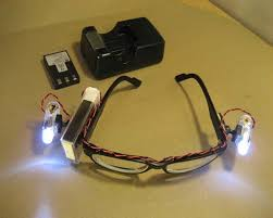 safety glasses for led lights rechargeable led safety glasses