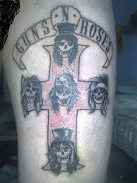 guns n u0027 roses u2013 appetite for destruction heavy metal tattoo