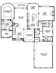home design 4 bedroom 3 5 bath 1 story house plans decorating
