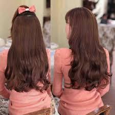hair clip rambut asli jual royal class hair clip big layer bellezzeshop