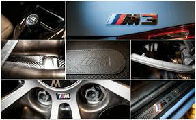 bmw logos how many m logos are on the new bmw m3 m4