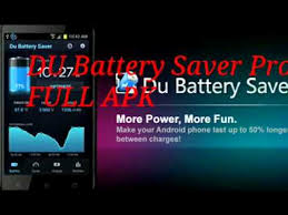 du battery apk descarga du battery saver pro apk