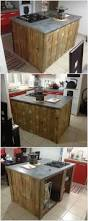 Diy Kitchen Island Pallet Best 20 Pallet Kitchen Island Ideas On Pinterest Pallet Island