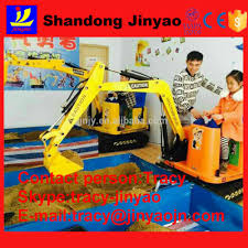kids ride on toy excavator mini electric excavator for kids use in