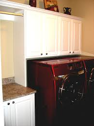 home design laundry room cabinets with hanging rod craftsman