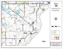 Minnesota On Map Franconia Township Minnesota Town Of Franconia Minnesota