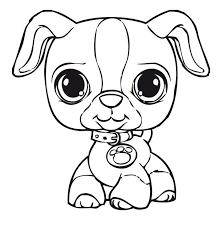 littlest pet shop coloring pages puppy coloringstar