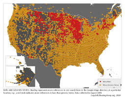 Map Of Southern Usa by 40 Maps That Explain Food In America Vox Com