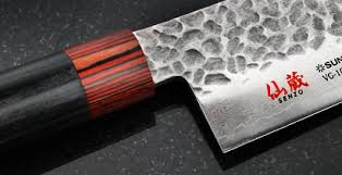 japanese handmade kitchen knives senzo knives by suncraft on sale made in japan cutlery and more