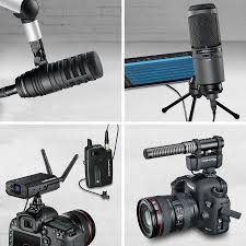 audio technica offers content creation microphone solutions
