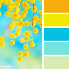 30 color palewedding colors 10 fresh hip combos yellow coral