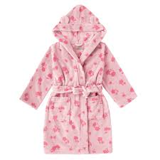 cath kidston kids dressing gown mono hampstead ditsy magpie