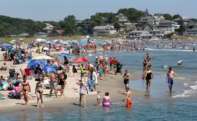 Gloucester No Day At The Beach For Out Of Towners In Gloucester The Boston