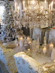 White Christmas Centerpieces - 60 inspiring winter and christmas theme wedding centerpieces