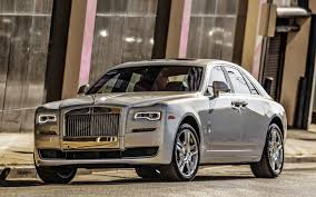 phantom ghost car rolls royce ghost silver front view cars wallpaper 3513